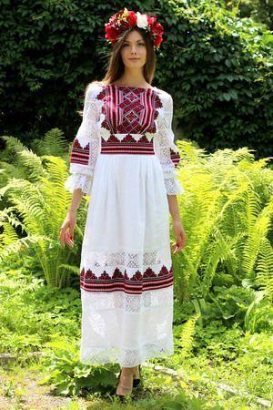Плаття-вишиванка. Варіант 4