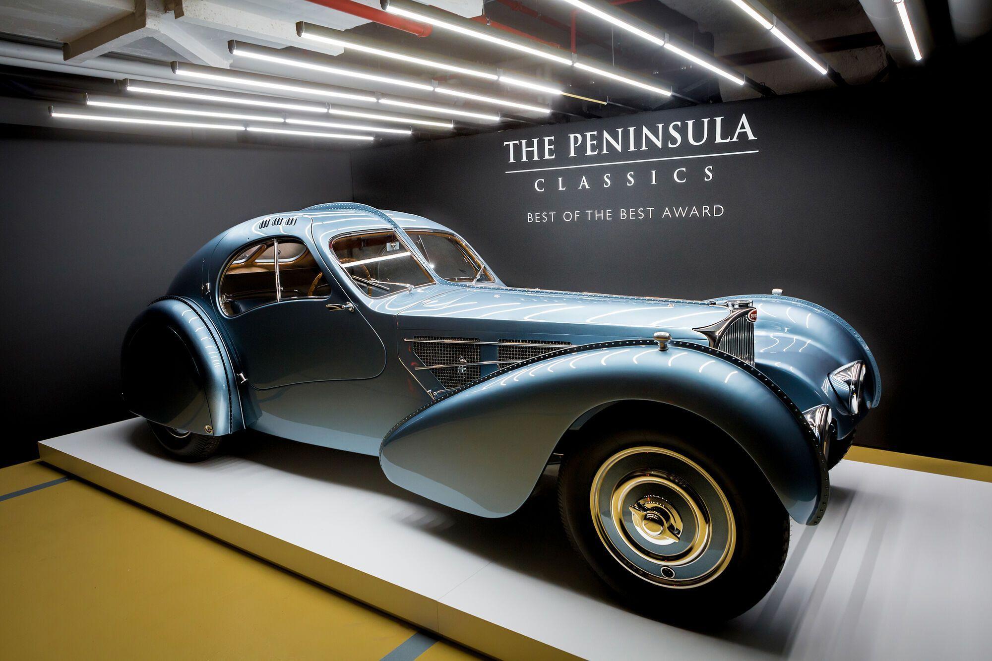 Bugatti Type 57 Atlantic чудово виглядав, але не пішов у виробництво