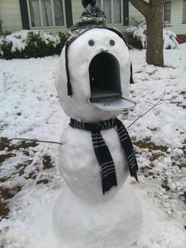 """25 """"сніговиків"""", які змусять вас відкрити рот і застигнути в подиві"""