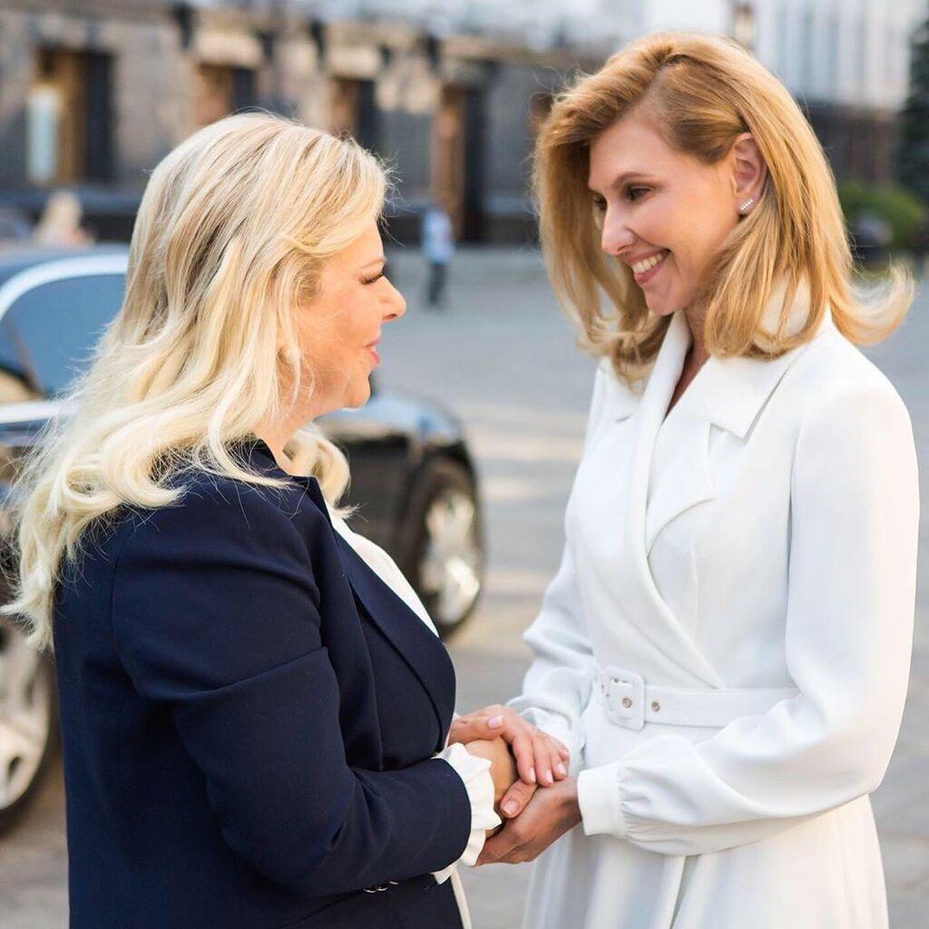 Олена Зеленська зустрілася з Сарою Нетаньягу