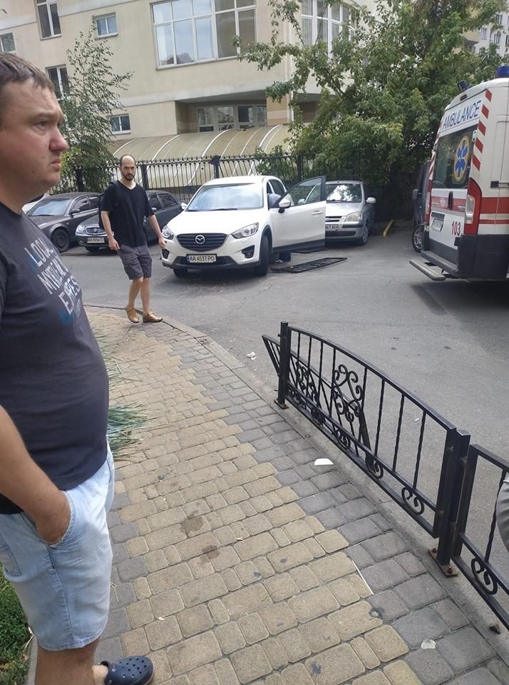 ДТП трапилася на Дніпровській Набережній, 19а