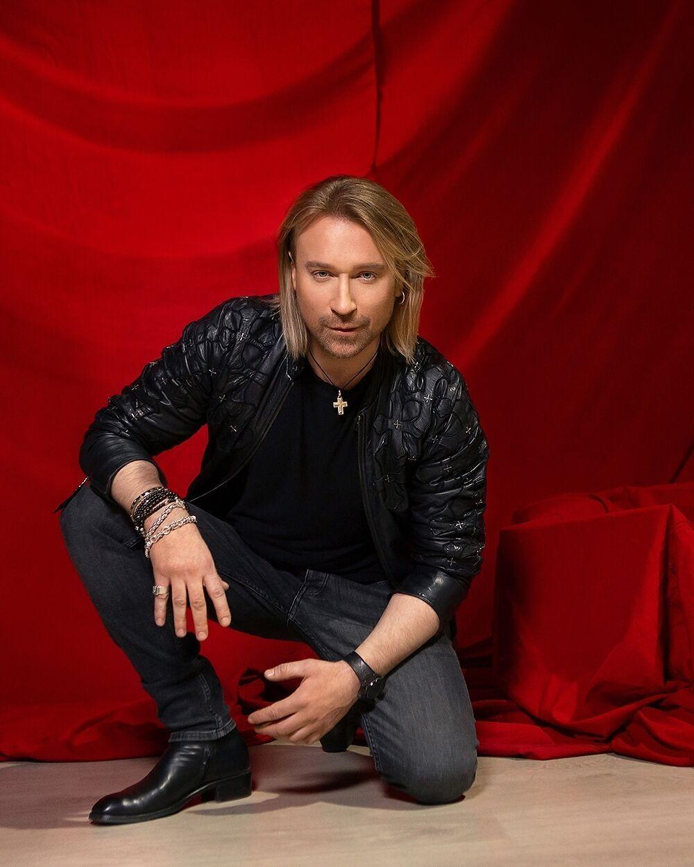 Український співак Олег Винник