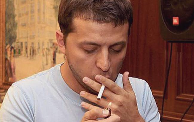 Зеленський палить? Стало відомо про шкідливі звички президента