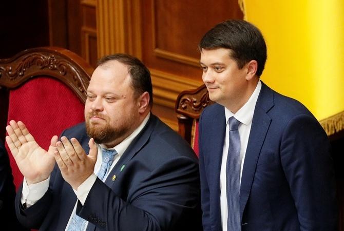Разумков і Стефанчук дають нардепам сигнали