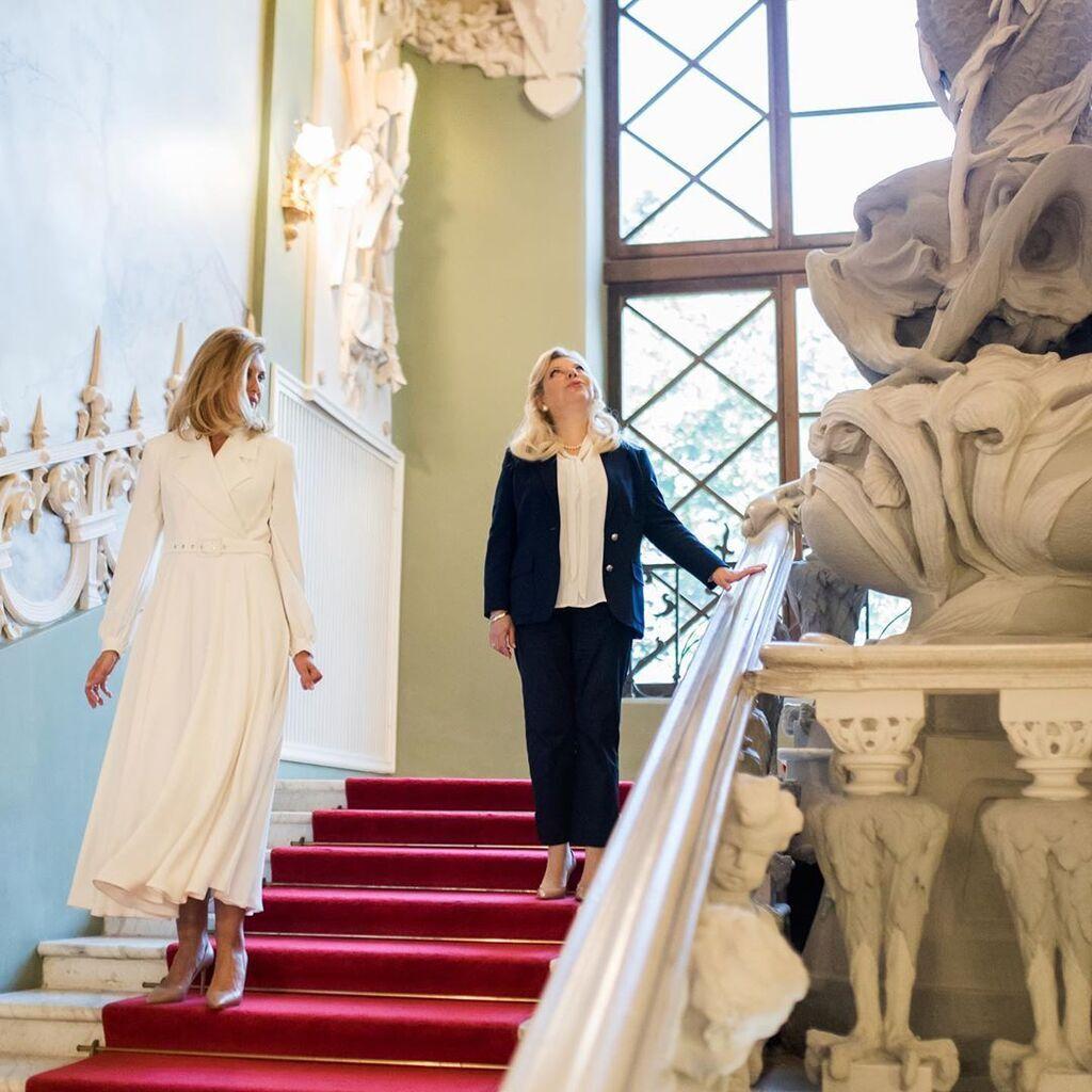Образ Олени Зеленської на зустрічі з дружиною прем'єр-міністра Ізраїлю