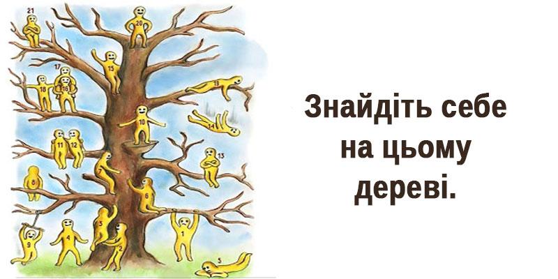 Пізнай себе: Знаменитий тест «Дерево з чоловічками»