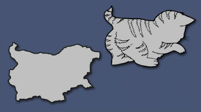 Італія – чобіт, а Франція – сова: блогер перемалював карту Європи - фото 346425