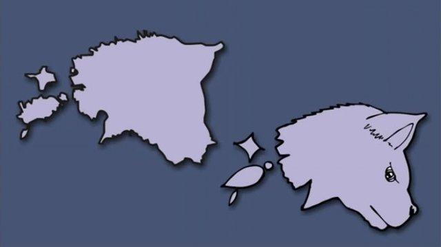 Італія – чобіт, а Франція – сова: блогер перемалював карту Європи - фото 346427