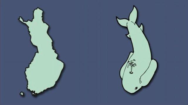 Італія – чобіт, а Франція – сова: блогер перемалював карту Європи - фото 346428