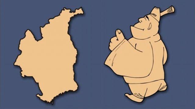 Італія – чобіт, а Франція – сова: блогер перемалював карту Європи - фото 346435