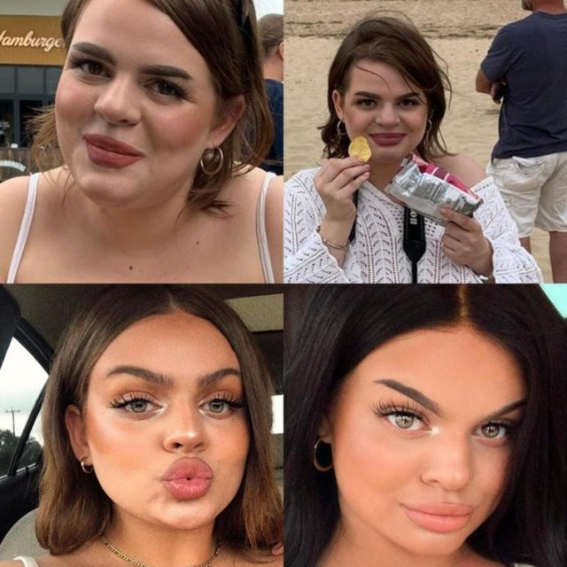 Як виглядають красуні з Instagram у реальному житті - фото 362089