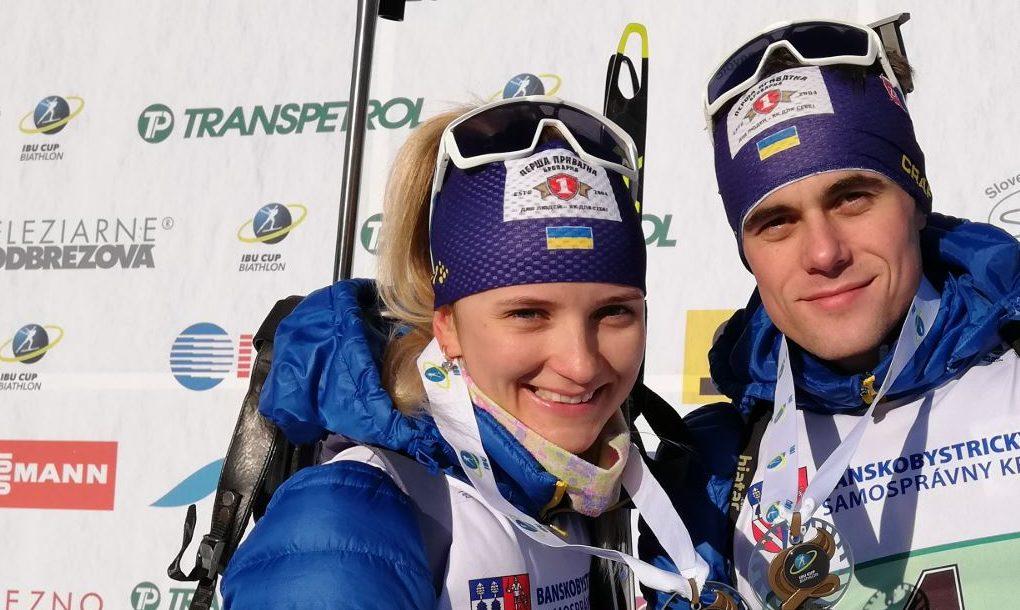 Українські біатлоністи стали бронзовими призерами Кубка IBU