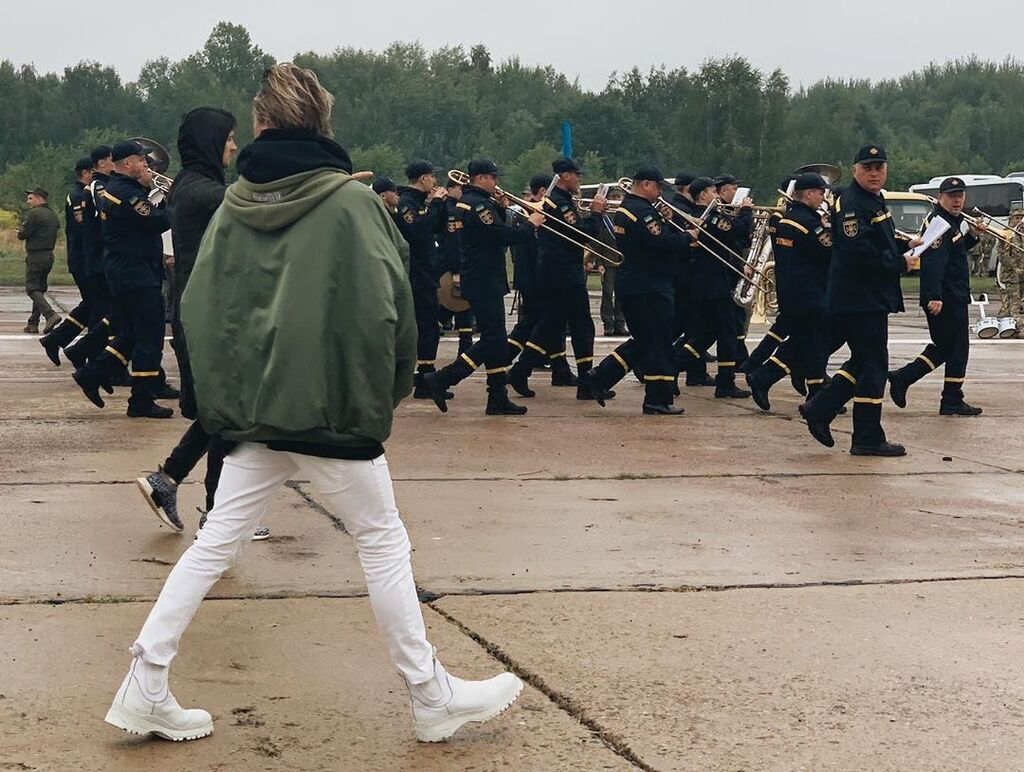 Алан Бадоєв готує парад на День Незалежності