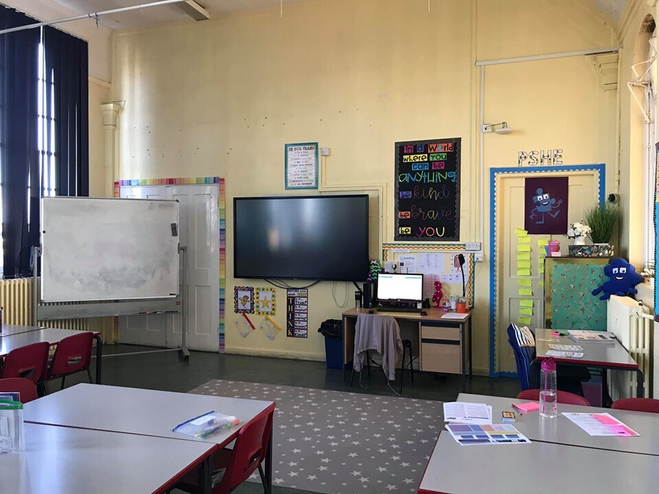 Клас в одній зі шкіл Лондона