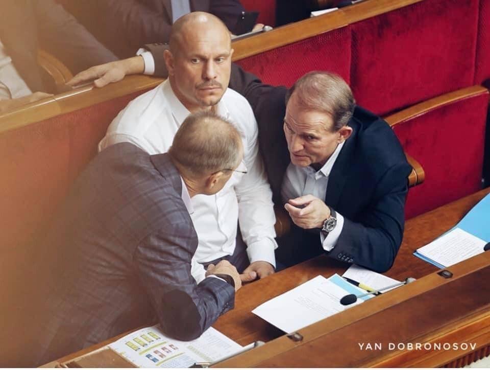 Кум російського президента прийшов на засідання Ради з годинником майже за мільйон гривень