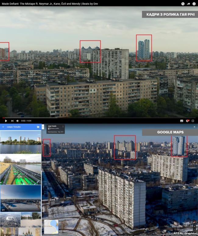 Будинки із синіми дахами по центру розташовані за адресою Туманяна,15а