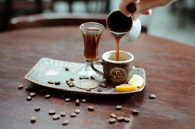 Кава © Alena Vinogradskaya