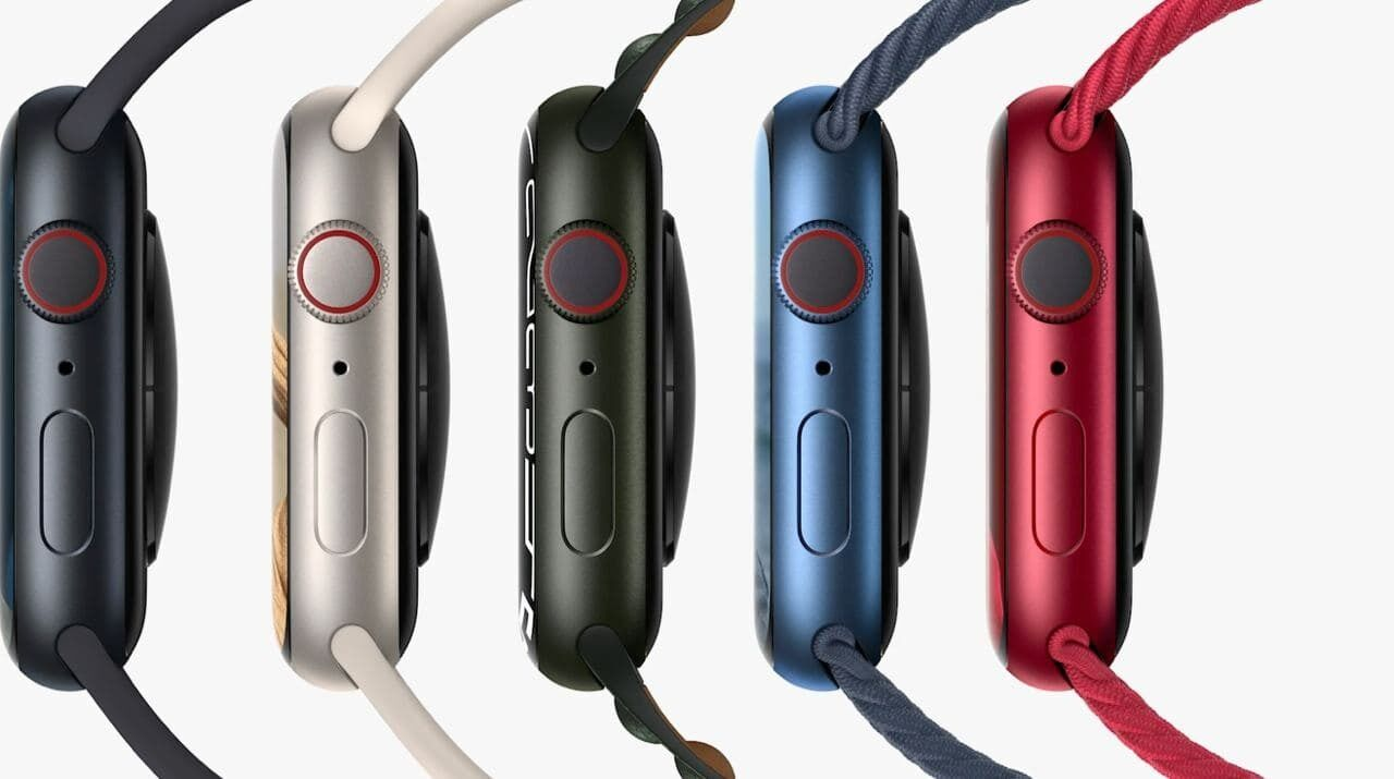 Кольори для Apple Watch Series 7