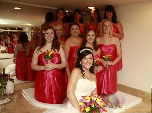 Найгірші та смішні весільні фото. Коли фотограф познущався - 5