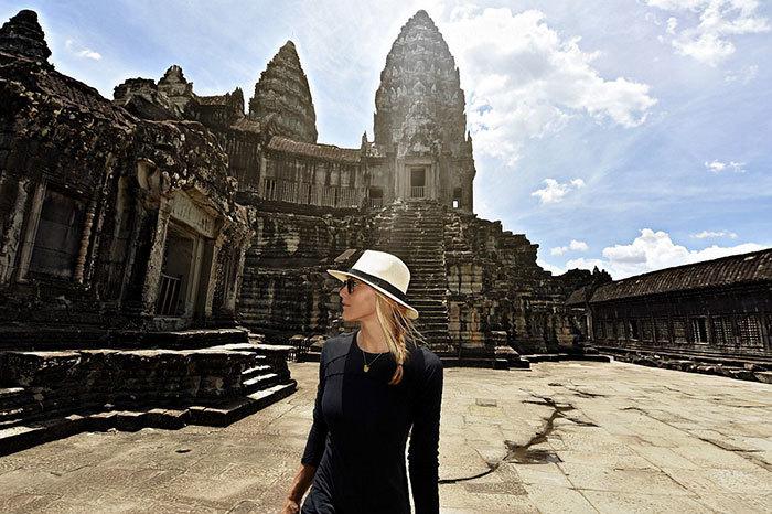 Перша жінка, яка відвідала всі країни світу - 7