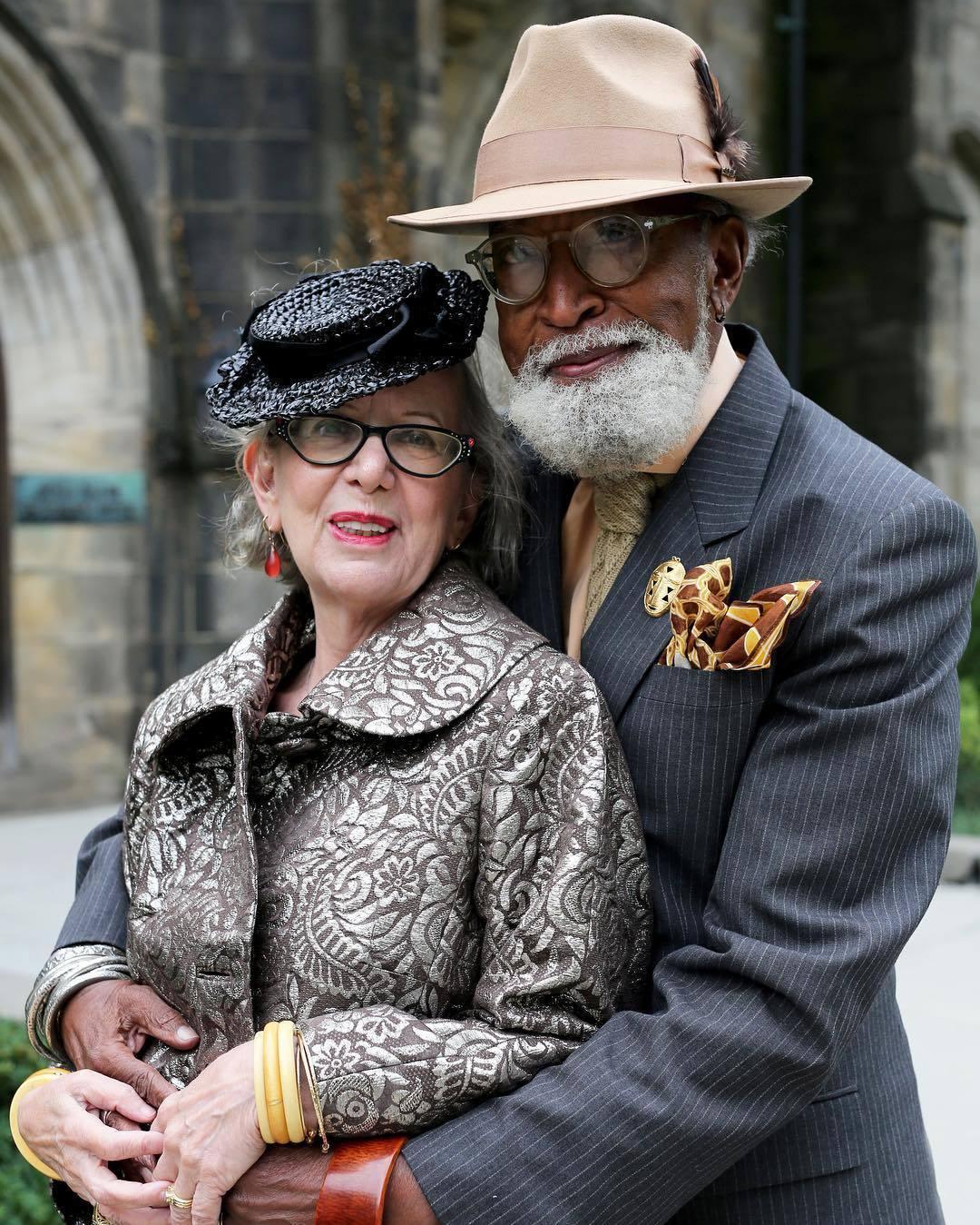 11 стильних пар у віці, які виглядають крутіше ніж голівудські зірки! - 6