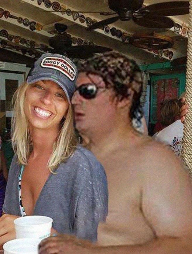 Дівчина попросила в інтернеті прибрати жирного хлопця з фотографії - 4