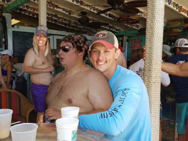 Дівчина попросила в інтернеті прибрати жирного хлопця з фотографії - 6