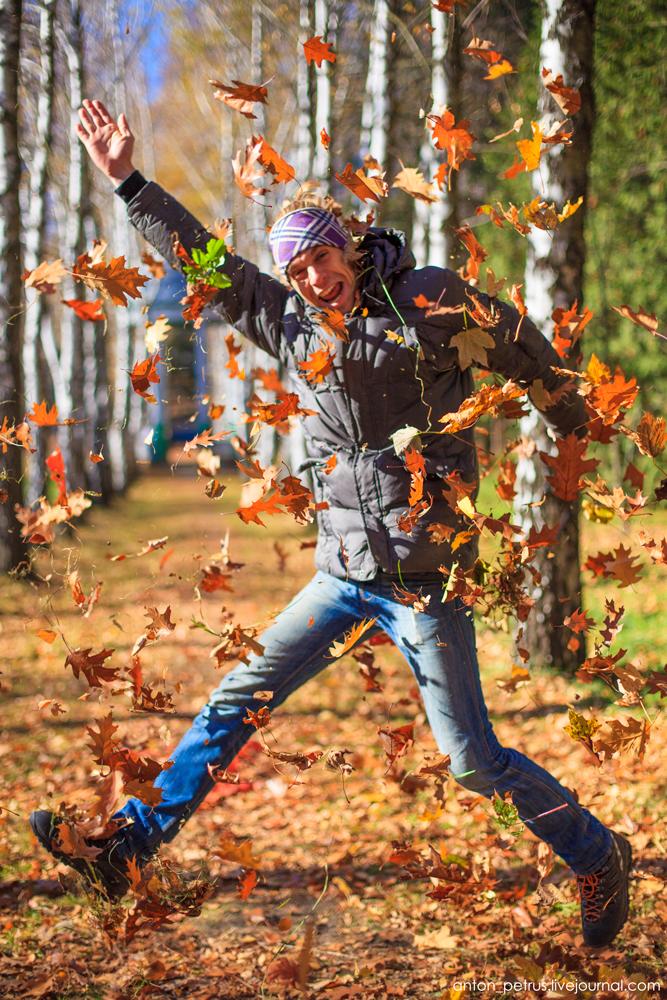Як правильно фотографуватися восени? Посібник для гламурних дівчат - 7