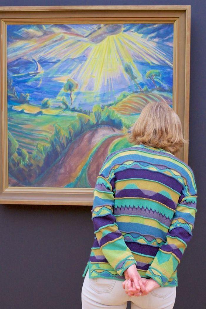 Фотограф роками таємно знімав «правильних» відвідувачів музею - і ось чому - 12
