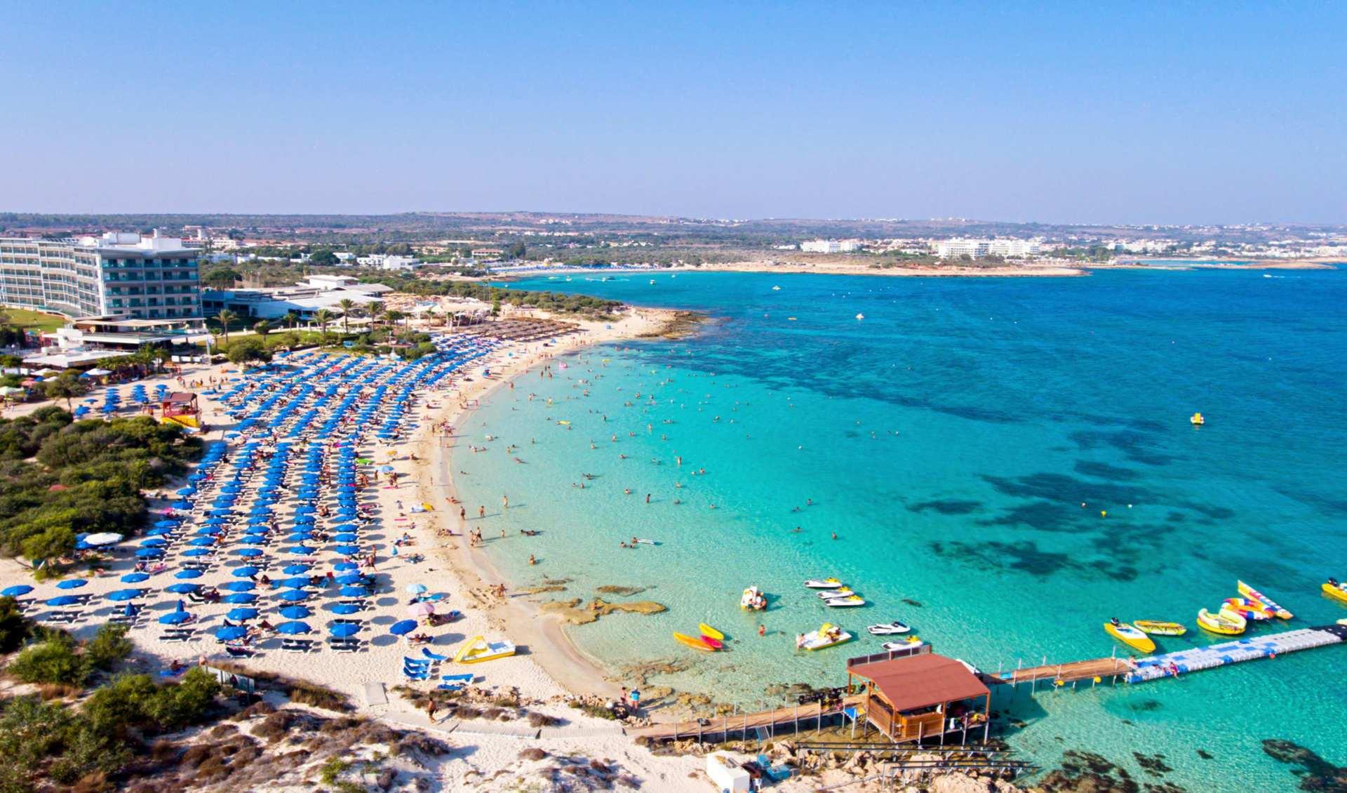 Ая-Напа – найрозвиненіший курорт Кіпру