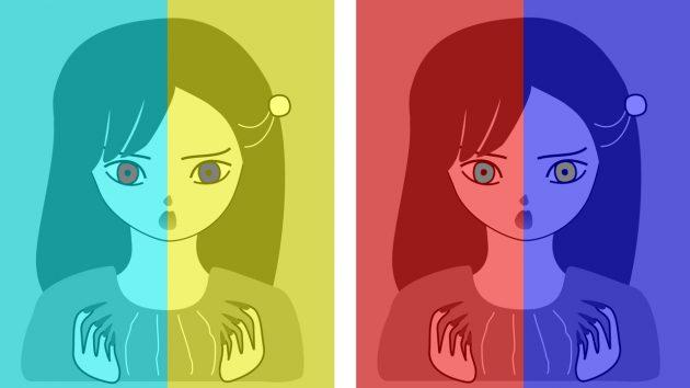 оптичні ілюзії: очі