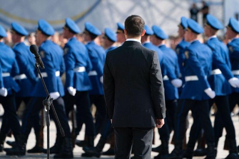 Урочистості на Софійській площі в День Державного прапора України