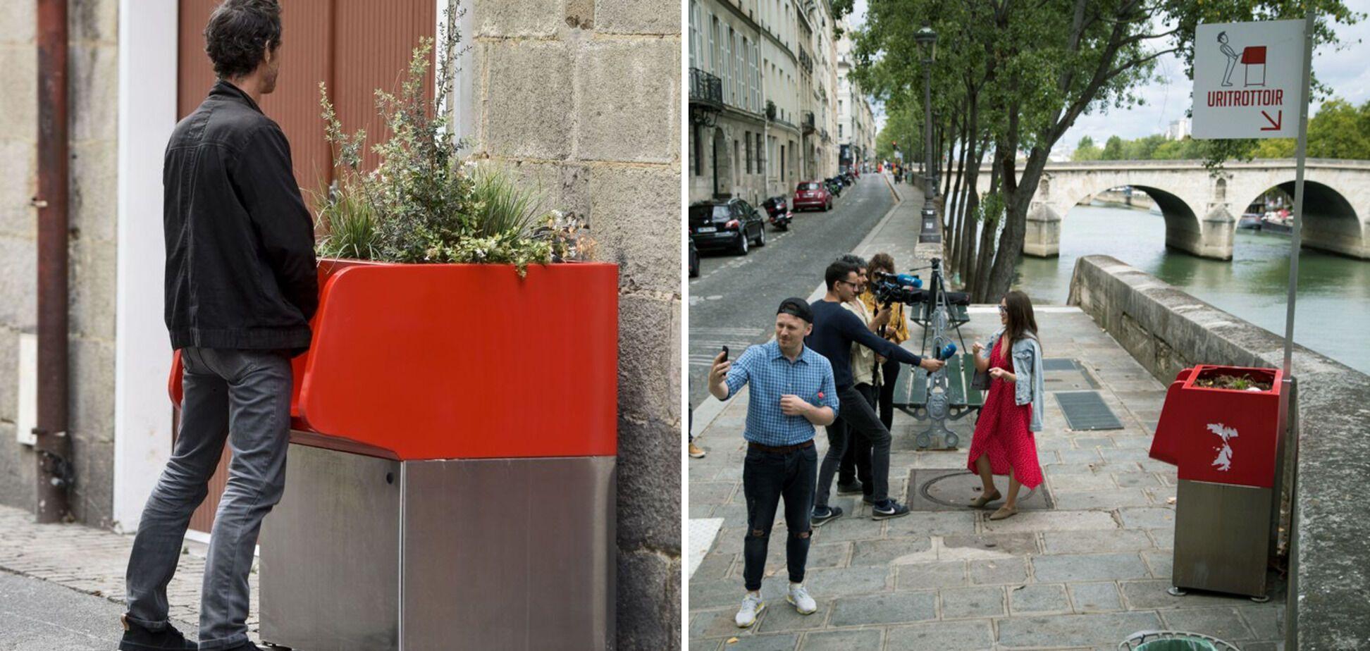 Мешканцям Парижу не подобаються громадські туалети