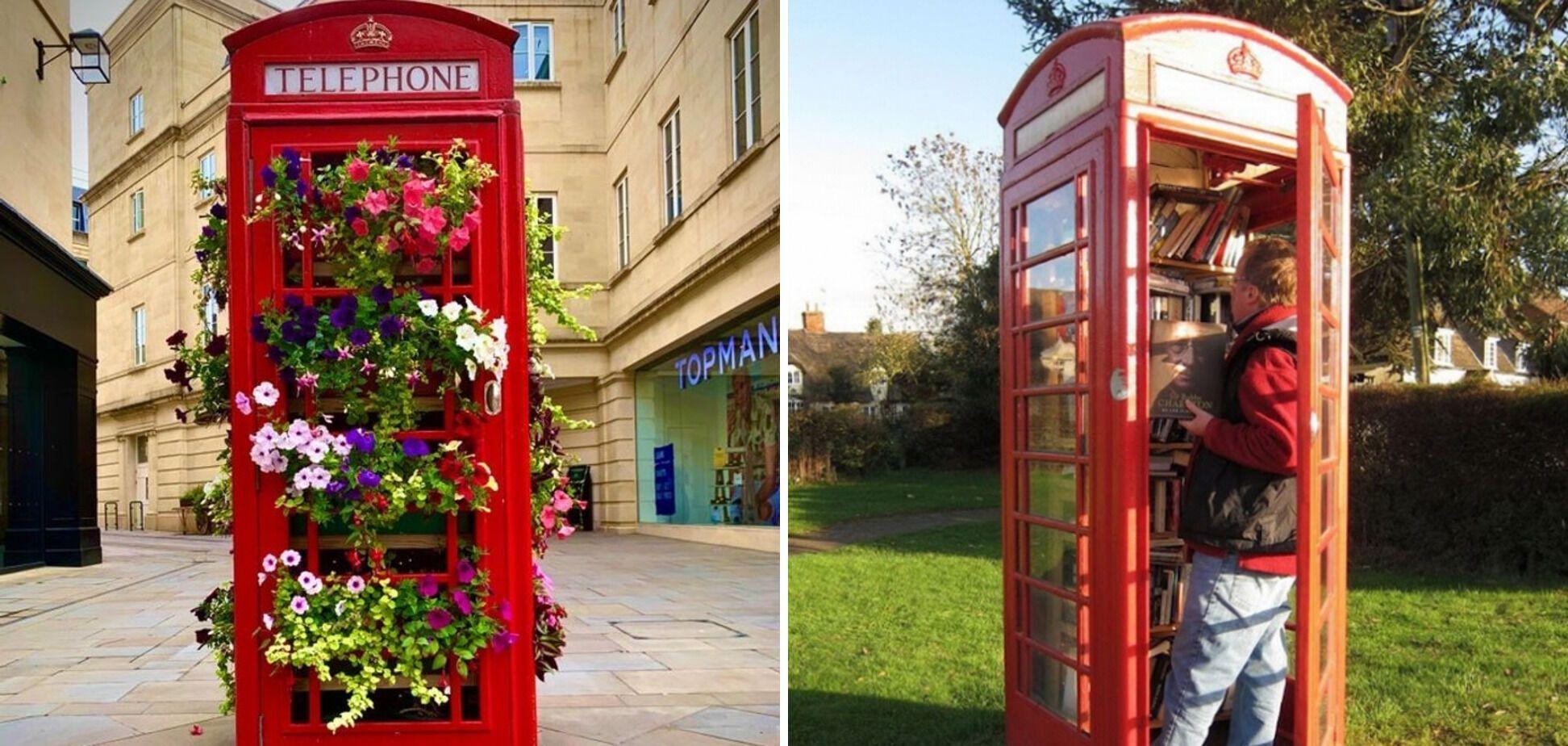 Телефонні будки у Великобританії