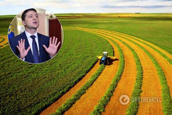 До будинку президента України Володимира Зеленського прийшли з протестами аграрії