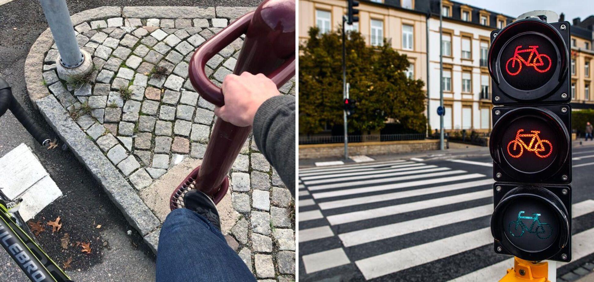 В Швеції є світлофори для велосипедистів