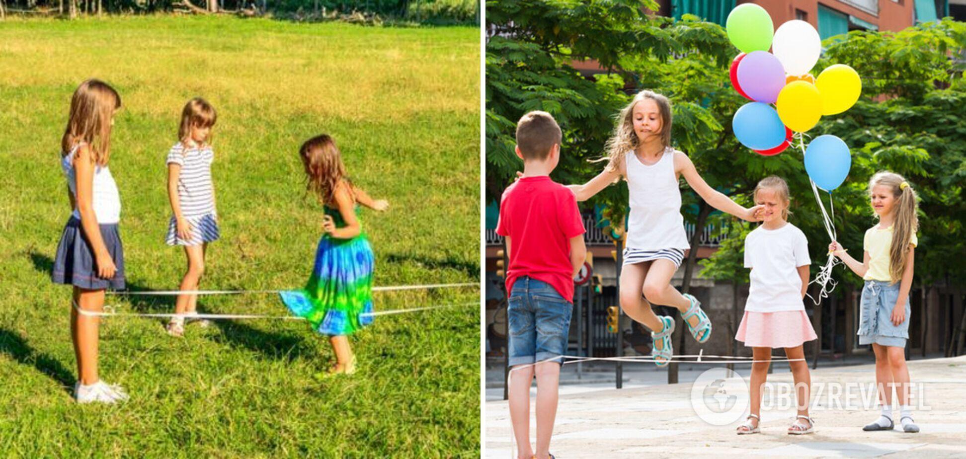 Через резинки пригали діти в усіх дворах СРСР