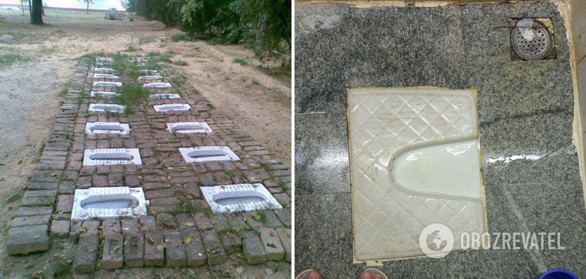 Індійські туалети дивують іноземних туристів