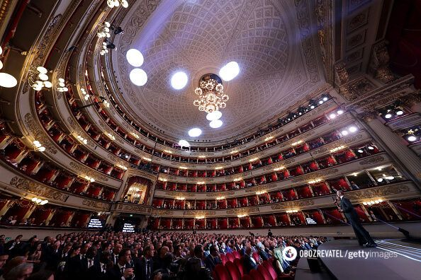 """""""Ла Скала"""", легендарний оперний театр."""