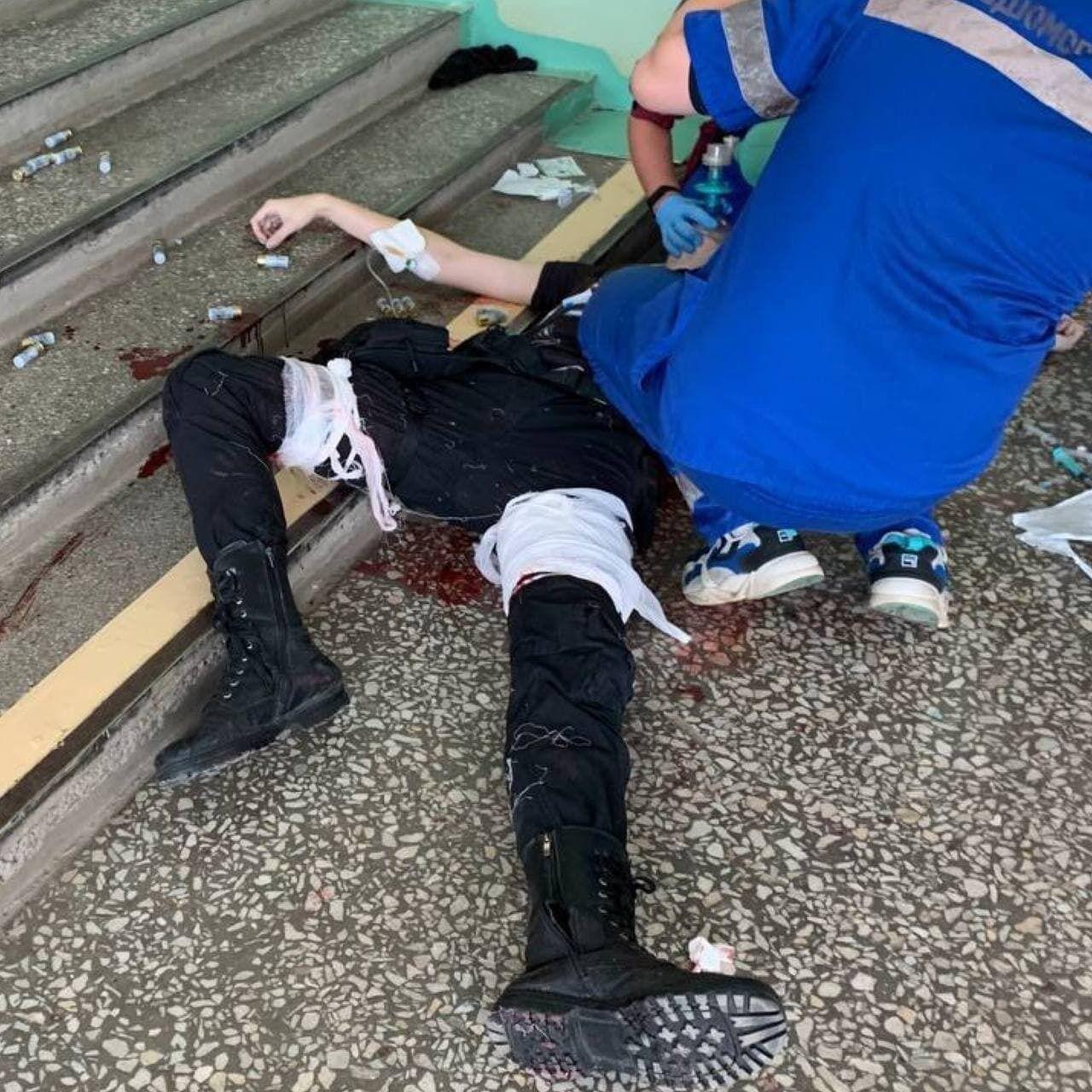 Стрілець знешкоджений і загинув.