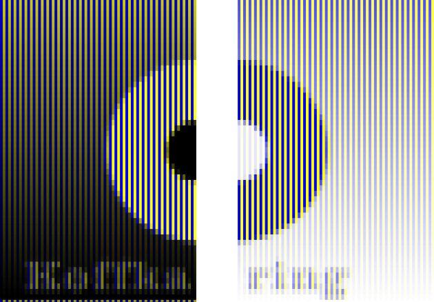 оптичні ілюзії: розрізане кільце
