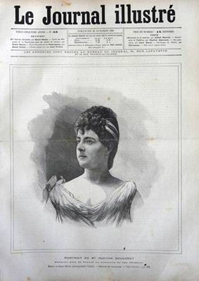 Сукаре на першій сторінці Le Journal Illustre