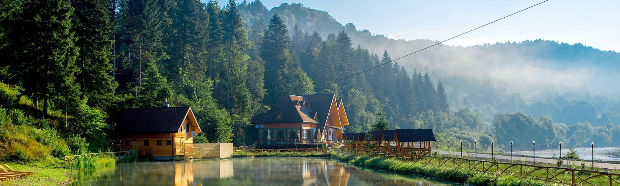 Курорт Східниця - санаторії, готелі, вілли, котеджі та приватні садиби