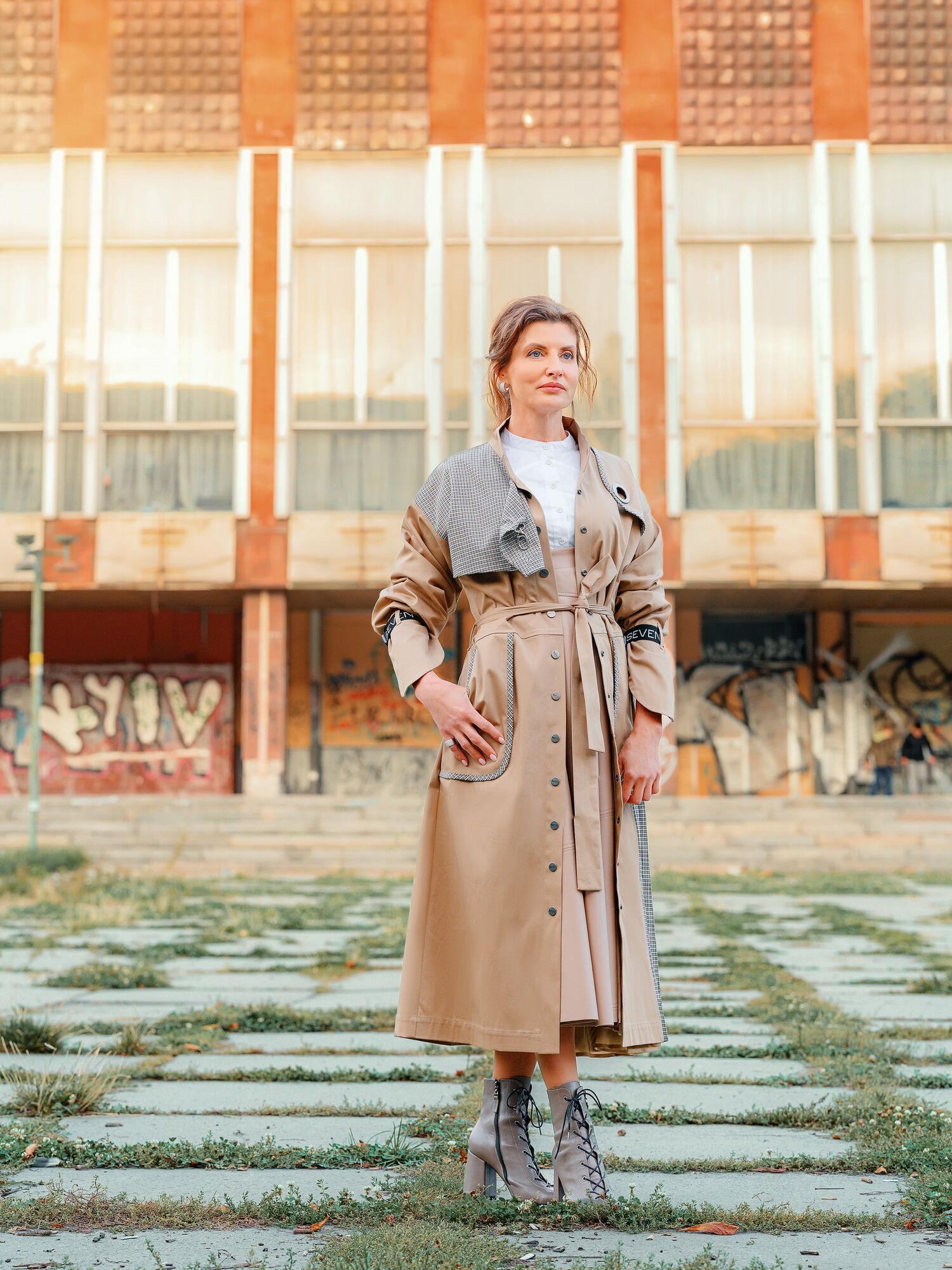 Марина Порошенко розповіла історії, пов'язані з улюбленими місцями у столиці
