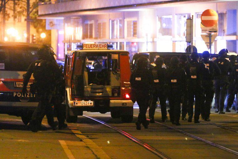 У центрі Відня стався напад на синагогу. Глава МВС Австрії говорить про можливий теракт (відео) Фото: Ronald Zak / AP