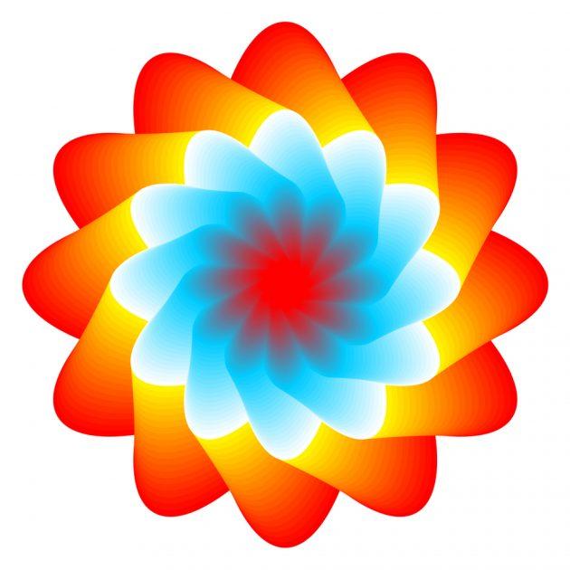 оптичні ілюзії: медуза