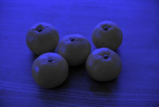 оптичні ілюзії: мандарини