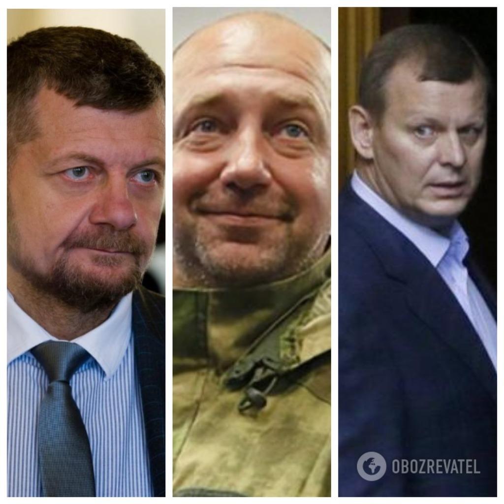 Ігор Мосійчук, Сергій Мельничук і Сергій Клюєв