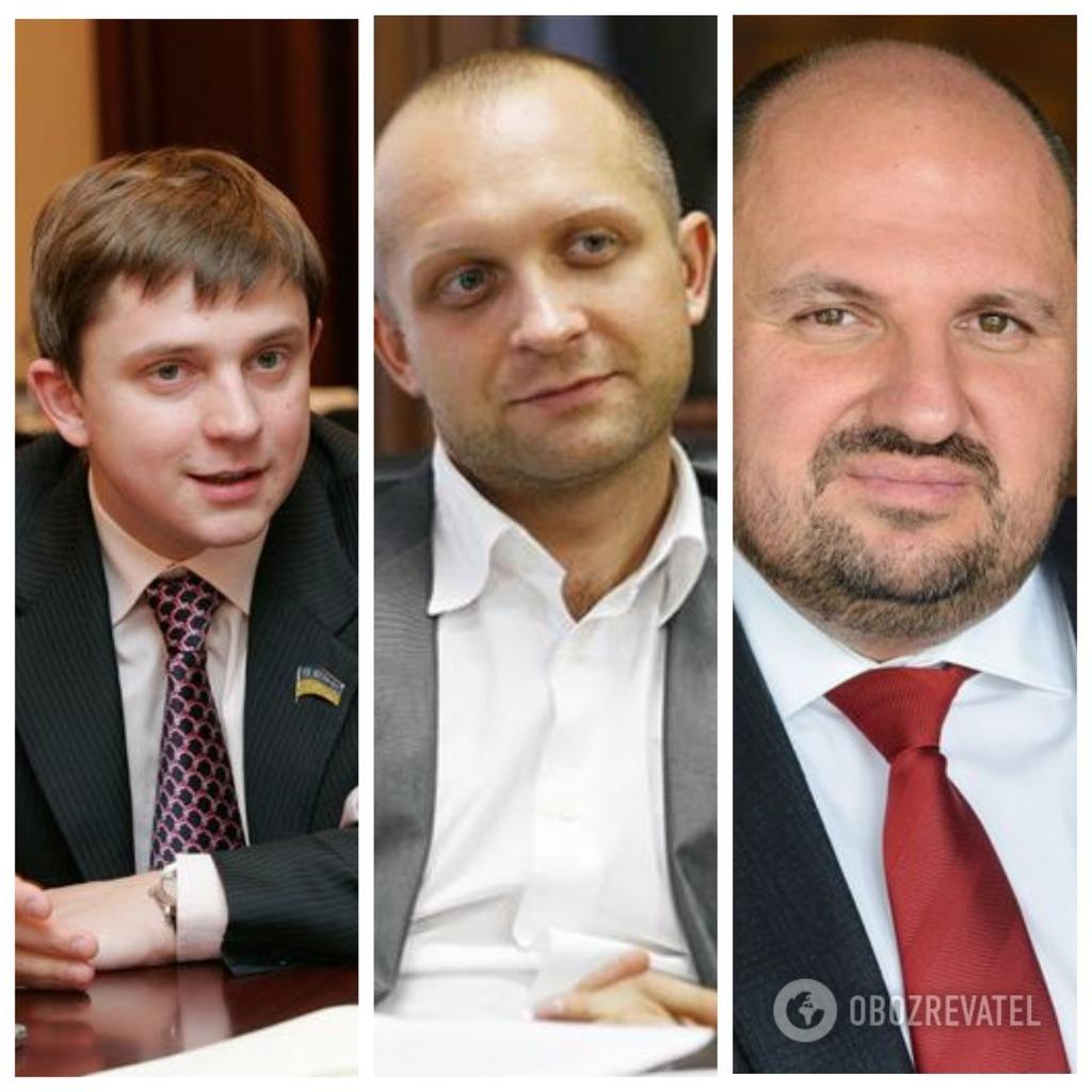 Олесь Довгий, Максим Поляков, Борислав Розенблат