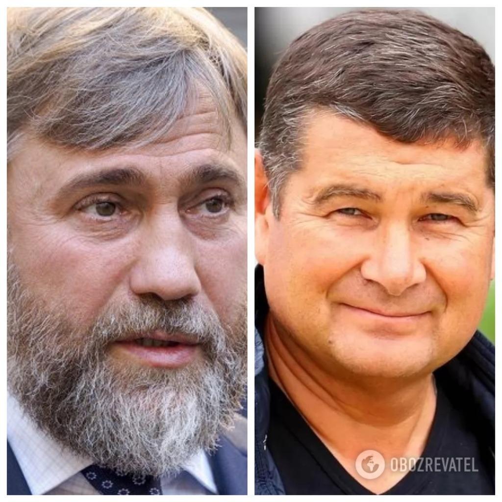 Вадим Новинський та Олександр Онищенко